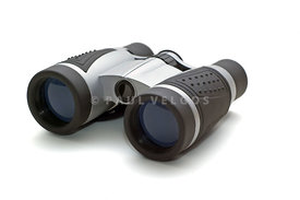 Binoculars on White Background Picture