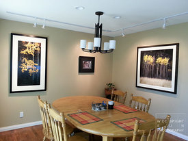 July 8th 2014 - I coordinated client's dining room