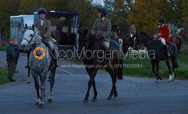 Charlotte Barnes and Sophie Walker - The Cottesmore Hunt at America Crossroads 17/10
