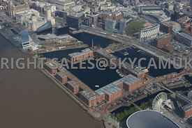 Liverpool waterfront Albert and Salthouse docks
