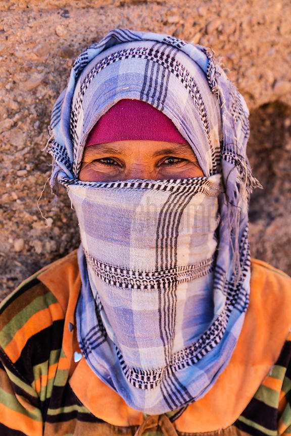 Portrait of a Berber Goatherd