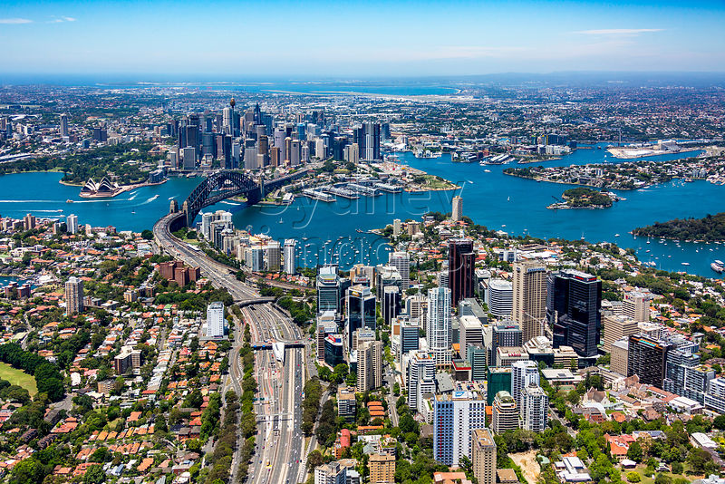 North Sydney to Sydney City