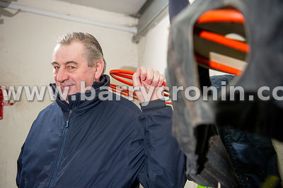 5th March, 2015.Champion Hunt Trainer Noel Meade at his Tu Va Stables,Castletown, Navan,Co. Meath.Photo:Barry Cronin/www.barr...