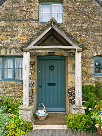 Cottage door