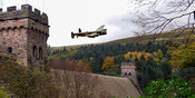 Canadian Lancaster VR-A at the Derwent Dam