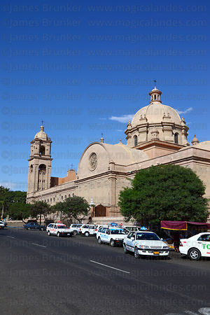 Side view of cathedral , Tacna , Peru