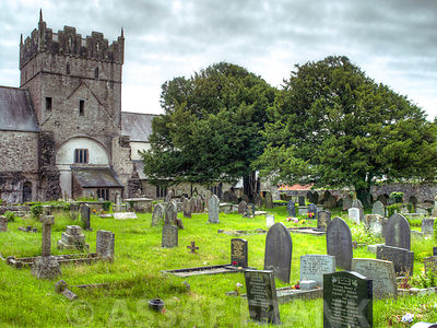The Parish of Ewenny With Saint Brides Major church, Bridgend, Wales