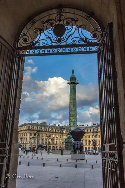 France, Paris, Place Vendôme