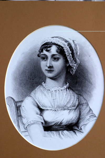 Illustration of Jane Austin