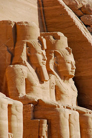 The Great Temple at Abu Simbel