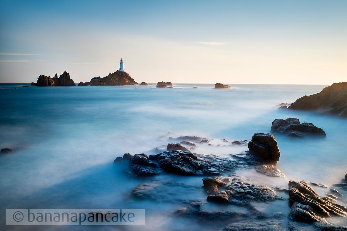 The lighthouse at La Corbiére, St. Brelade, Jersey - BP3830
