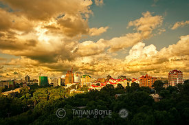New city skyline | Khabarovsk, Russian Federation