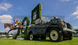 Emily Prangnell and DHI BEAUNESSE, cross country phase, Land Rover Burghley Horse Trials 2018