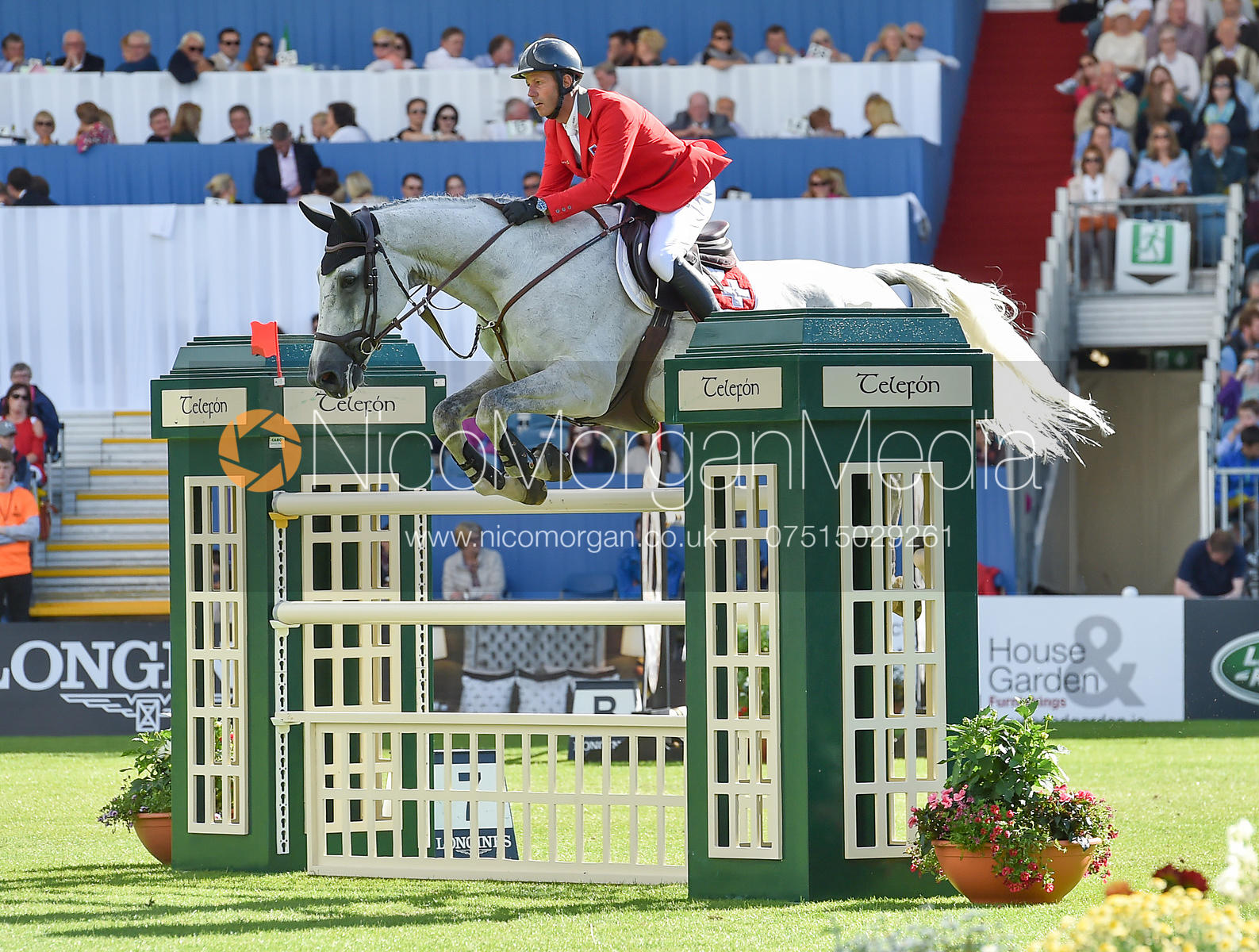 Edwin Smits and Rouge Pierreville  - FEI Nations Cup, Dublin Horse Show 2017
