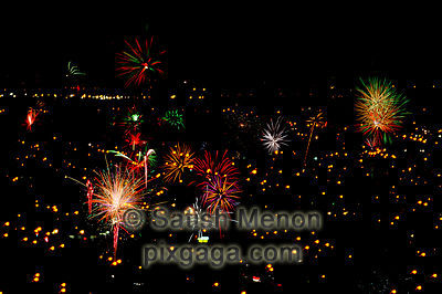 Fourth of July Fireworks, San Jose, California, USA