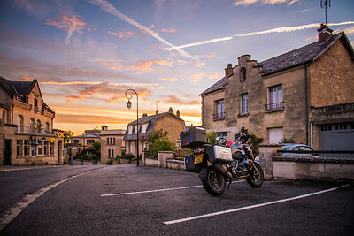 european motorcycle travel france