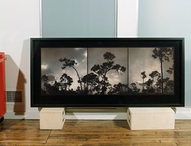 large framed editioned print