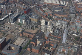 Students Village Cambridge and Hulme Street and Oxford road Railway Station area of Manchester
