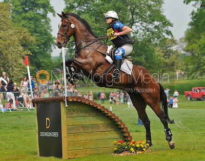 DARWIN II and Amy Williams, Bramham Horse Trials, 2010