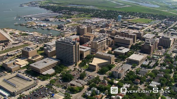 Medical center in Galveston, Texas.
