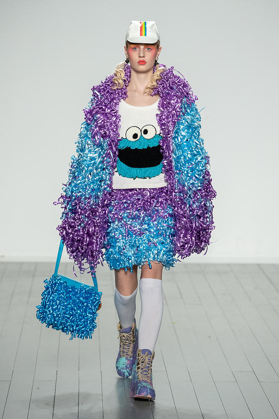 London Fashion Week Autumn Winter 2019  - On|Off Sesame Street Collaboration
