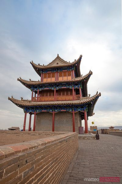 Jiayuguan great wall pass, Gansu, China