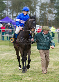 Charlie Brown (Pippa Humphrey), Charity Flat Race, Div I - The Quorn at Garthorpe 21st April 2013.