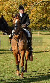 David Applewhite at the meet. The Belvoir Hunt at the Kennels 13/11