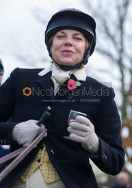 Susan WrightonThe Quorn Hunt at John O' Gaunt 9/11/12