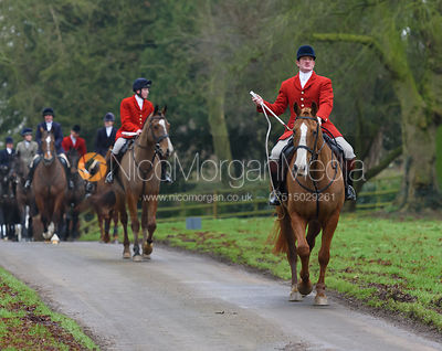 The Cottesmore Hunt at Burley on the Hill 21/1