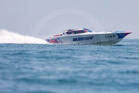 Blastoff, C-100, Fortitudo Poole Bay 100 Offshore Powerboat Race, June 2018, 20180610328