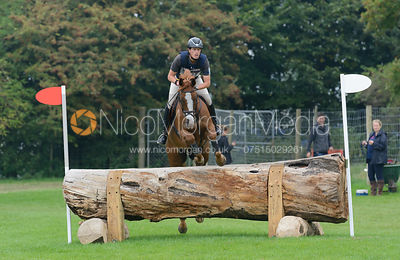 Kai Ruder and GRYFFINDOR - cross country phase,  Land Rover Burghley Horse Trials, 6th September 2014.