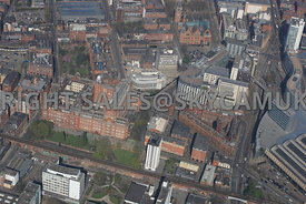 Sackville Street building and Piccadilly Place Manchester