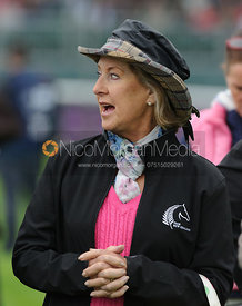 - dressage phase,  Land Rover Burghley Horse Trials, 6th September 2013.