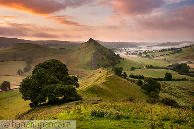 Parkhouse Hill from Chrome Hill, Peak District National Park - BP3273