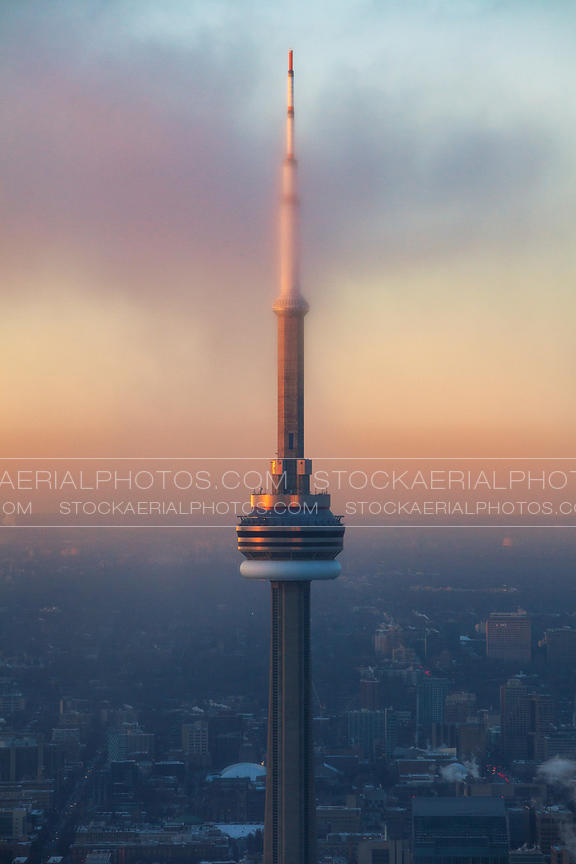 CN Tower at Dusk