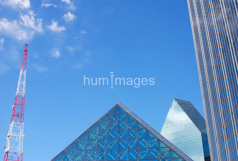 Triangle shapes in Dallas, Texas