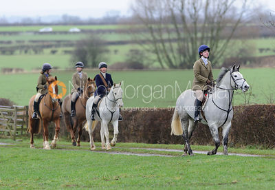The Belvoir Hunt at Sheepwash 3/1 photos