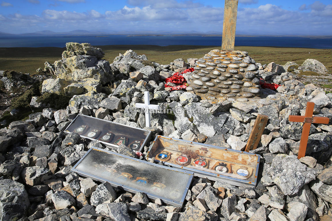HMS Coventry Memorial, Pebble Island, Falkland