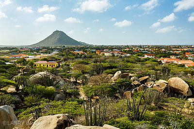 View from Casibari Rock Formation, Aruba