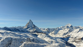 Matterhorn from Gornergrat above Zermatt