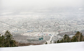 Ski resort in Sakhalinsk, Russian Federation
