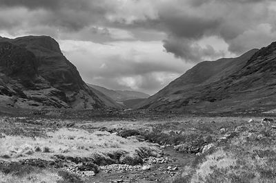 River Coe, Glencoe BW version