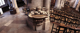 Stoup of Saint Germain l'Auxerrois church, Paris