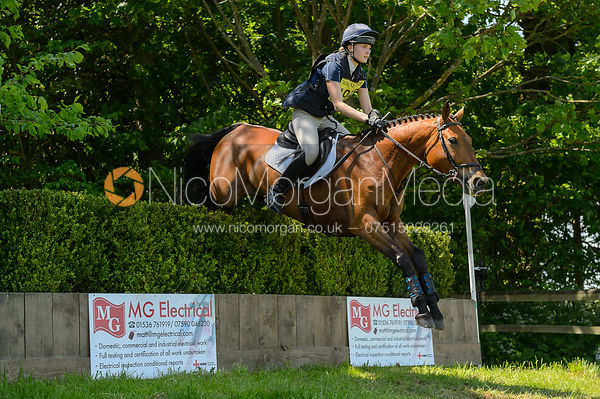 Elicia Millar and A SUNNY BAY, Fairfax & Favor Rockingham Horse Trials 2018