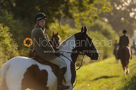 Cottesmore Hunt hound exercise at Cow Close Farm 25/9