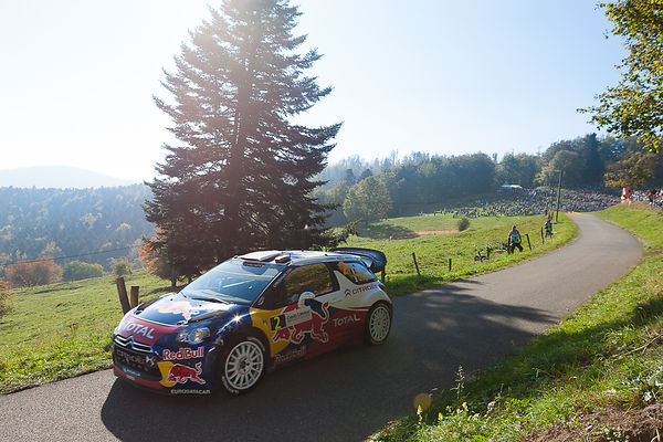 Alsace: WRC Rally of France 2011