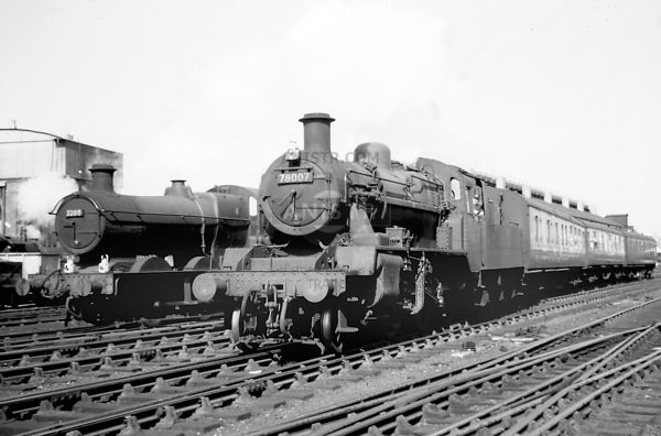 PHOTOS OF STANDARD 2MT 2-6-0 STEAM LOCOS
