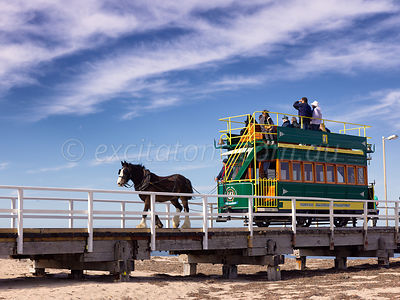 Horse drawn tram, Victor Harbor