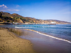 Malibu Pier in Malibu California